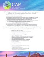 Cottonwood Assessment Program (CAP) Brochure