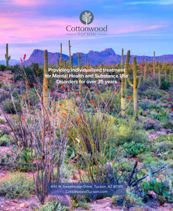 Cottonwood Tucson Brochure - arizona mental health and addiction treatment center - behavioral health residential inpatient treatment