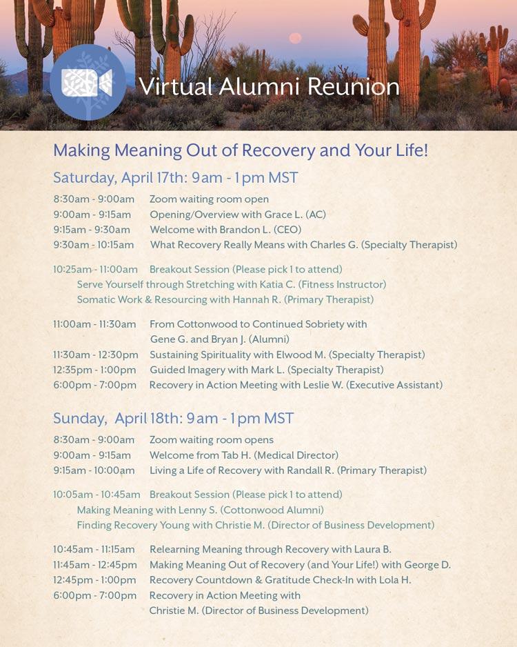 2021 Virtual Alumni Reunion